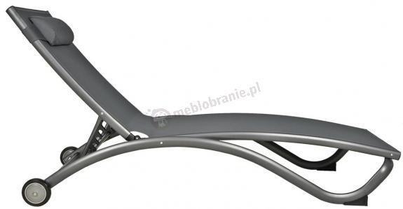 Leżanka aluminiowa Riva