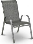 Krzesło ogrodowe metalowe