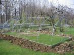 Szkielet Tunelu ogrodniczego metalowego