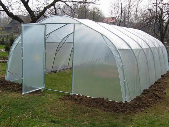 Tunel foliowy ogrodniczy metalowy