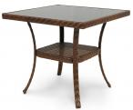 Stół kwadratowy z technorattanu