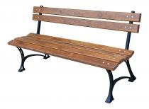 Ławka ogrodowa drewniana 150cm