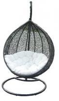 Huśtawka Cocoon brązowo-biała