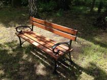 Ławka parkowa - 180cm - 48kg
