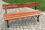 Ławka ogrodowa drewniana 180cm