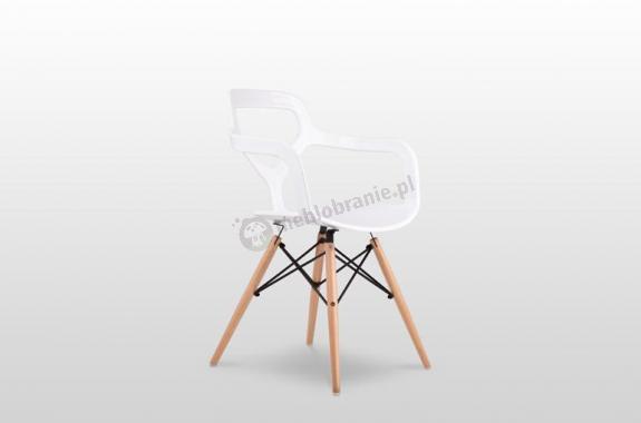 krzesło Nox Wood, białe