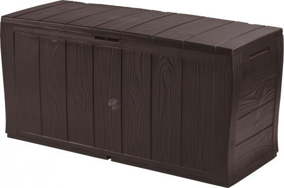 Skrzynia balkonowa Sherwood Box 270L brązowy