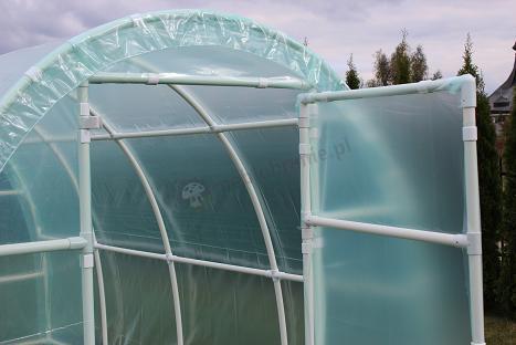 Folie na tunele foliowe 5m * 2,2m * 1,9m - komplet