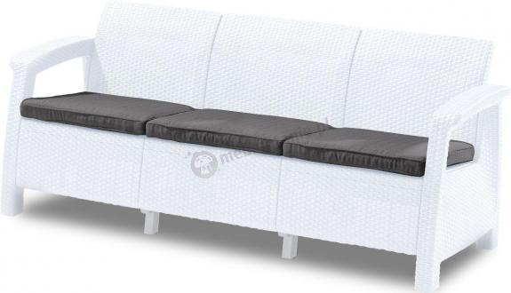 Sofa Corfu Love Seat Max biała