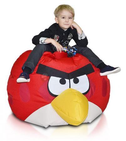 Pufa dla dzieci Angry Birds Red Bird Czerwona