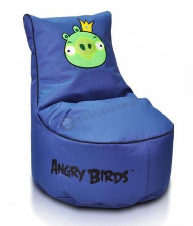 Pufy dla dzieci z atestem Angry Birds King Pig Seat S