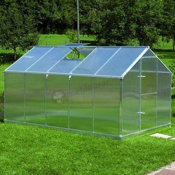 Szklarnia ogrodowa z poliwęglanu Gutta F5 3,73*2,3m