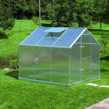 Szklarnia ogrodowa z poliwęglanu Gutta F3 2,28*2,3m