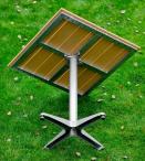 Stolik ogrodowy Pollywood aluminiowa konstrukcja