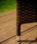 Nóżka w fotelu ogrodowym Generoso