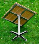 Stolik z aluminiową konstrukcją Generoso
