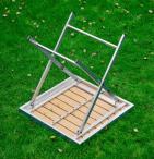 Aluminiowa konstrukcja stolika Piccolo