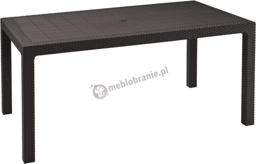Stół ogrodowy Melody Grafitowy 160x95cm