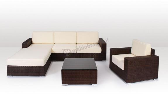 Meble wypoczynkowe Milano Modern 1 brązowy