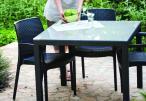 Stół ogrodowy z szybą - Sumatra aranżacja