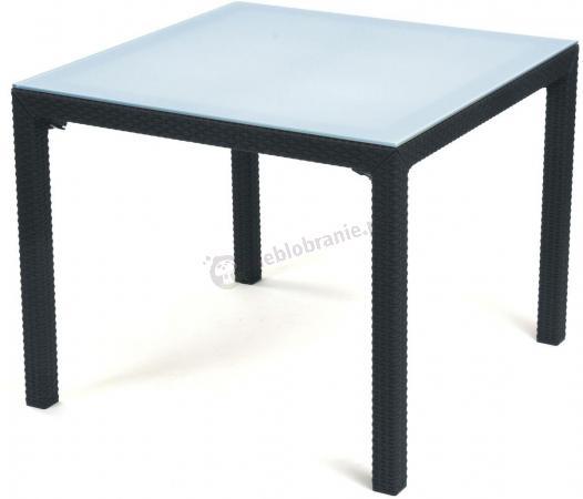 Stół ogrodowy z szybą - Sumatra 95cm