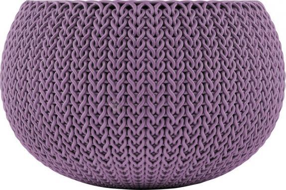 Doniczka Cozies S - kolor: purpurowy
