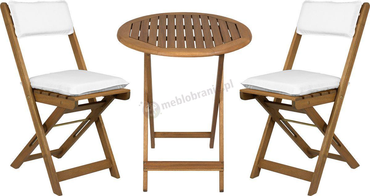 drewniane meble na balkon carol z poduszk na siedzisko fieldmann. Black Bedroom Furniture Sets. Home Design Ideas