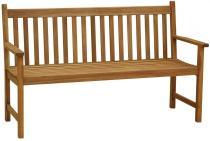 Drewniana ławka ogrodowa 150cm z akacji