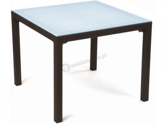 Stół ogrodowy z szybą - Sumatra 72cm