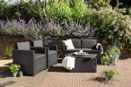 Stół ogrodowy ze skrzynią Arica Rattan Table