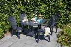 Zestaw mebli ogrodowych Portland & 4 Larisa