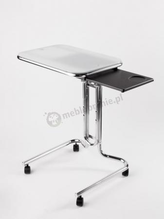 Białe komputerowe biurko Avante Laptop Desk