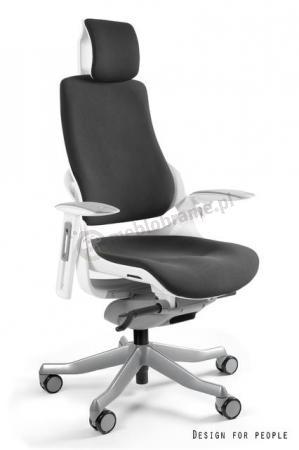 Ergonomiczny fotel gabinetowy regulowany Wau Tkanina BL