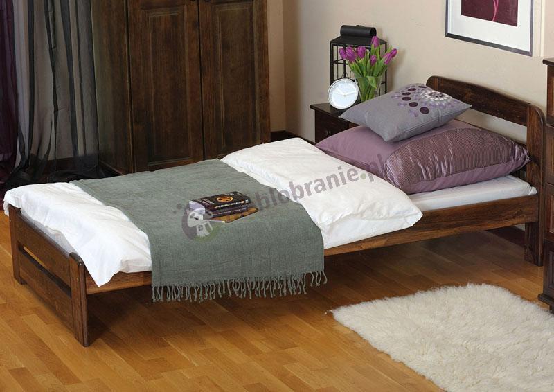 Łóżko drewniane Lilia lakierowane