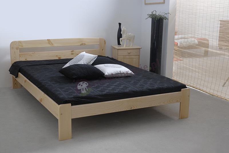 Łóżko drewniane 140 cm Saranda