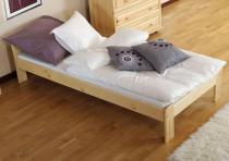 Łóżko jednoosobowe drewniane Celly