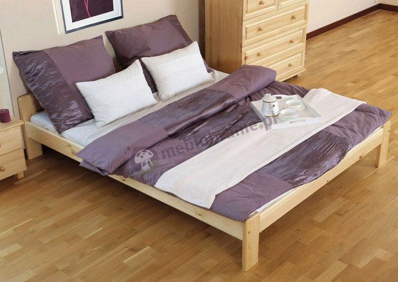 Łóżko sosnowe 140 x 200 cm Celly