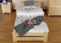 Jednoosobowe łóżko sosnowe Viva