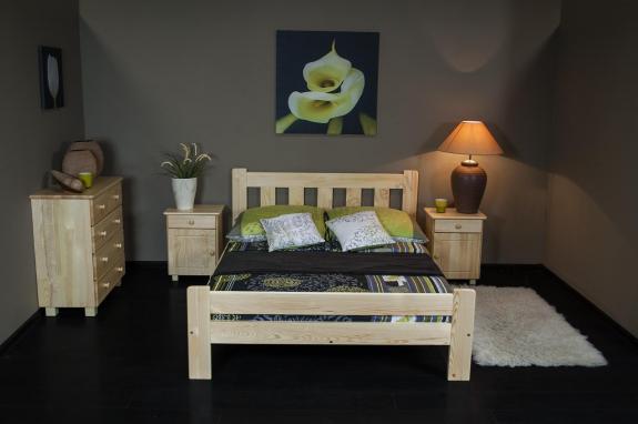 Łóżko sypialniane 140 x 200 cm Mati