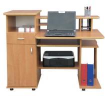 Duże biurko z nadstawką Gama