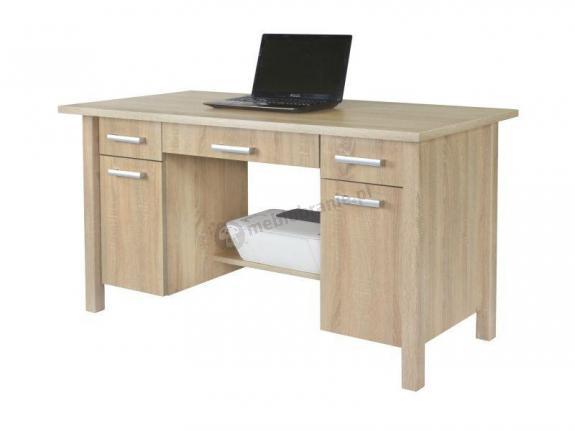 Duże biurko z szafkami i szufladami Filip 2