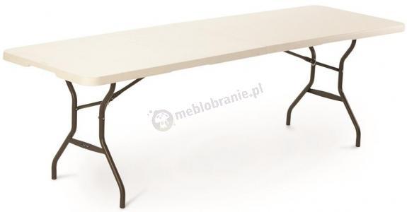 Stół cateringowy ze składanym blatem 244 cm