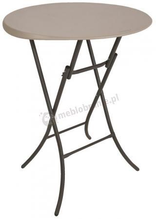 Mały okrągły stół cateringowy Bistro 83,8 cm