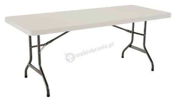 Cateringowy stół składany 183 cm migdałowy