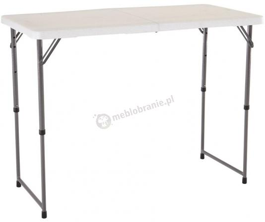 Stół cateringowy z regulowaną wysokością 122 cm