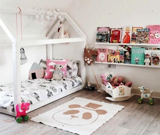 Łóżko domek dla dziecka MOON