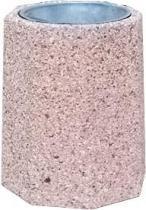 Kosz betonowy z wkładem metalowym B1