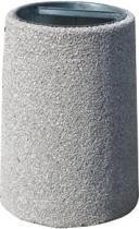 Kosz betonowy zewnętrzny B3