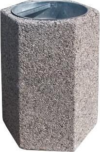 Kosz betonowy parkowy B1X