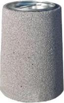 Kosz na śmieci betonowy z metalowym wkładem B3X